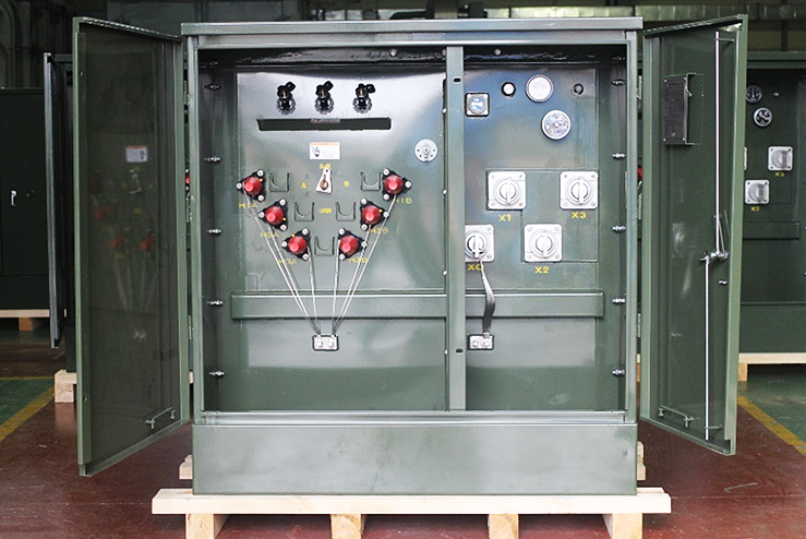Hctns Padmount Transformer